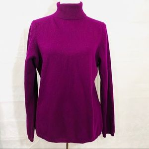 Charter Club Luxury Cashmere Turtleneck